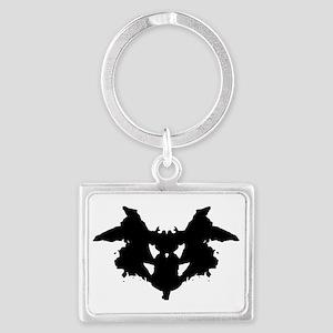 Rorschach Inkblot Keychains
