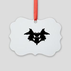 Rorschach Inkblot Picture Ornament