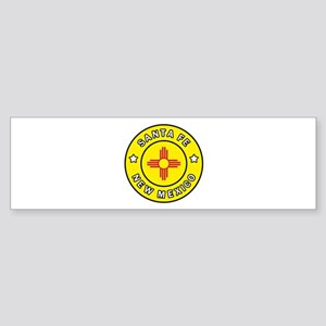 Santa Fe New Mexico Bumper Sticker