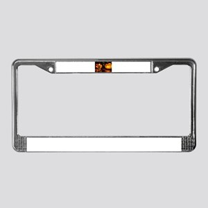 Spooky Journey License Plate Frame