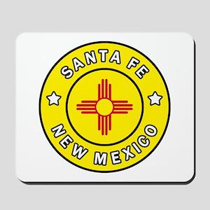 Santa Fe New Mexico Mousepad