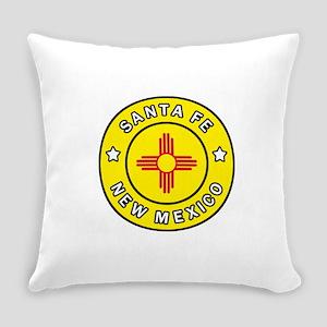 Santa Fe New Mexico Everyday Pillow