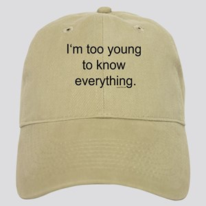 Too Young To Know Cap
