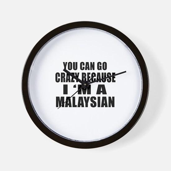 Malaysian Designs Wall Clock