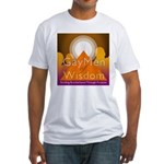 Gay Men Of Wisdom Fitted T-Shirt