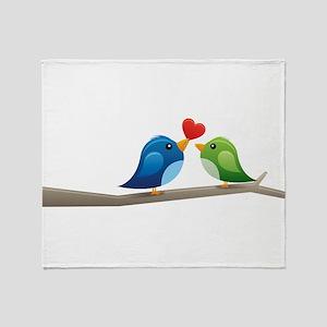 Twitter bird Throw Blanket