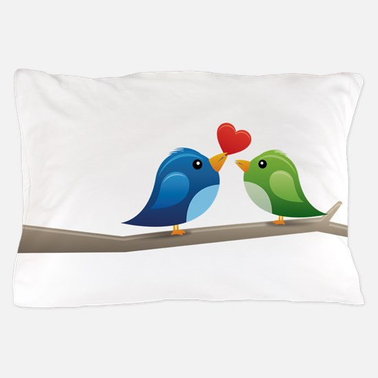Twitter bird Pillow Case