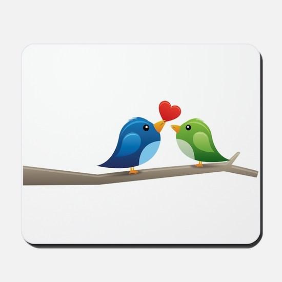 Twitter bird Mousepad