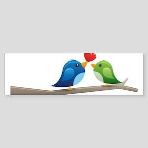 Twitter bird Bumper Sticker