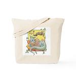 Dragon Reader Tote Bag