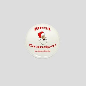 BEST SANTA GRANDPA Mini Button