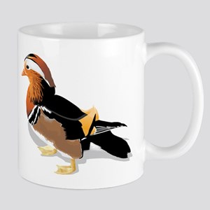 Mandarin duck Mugs
