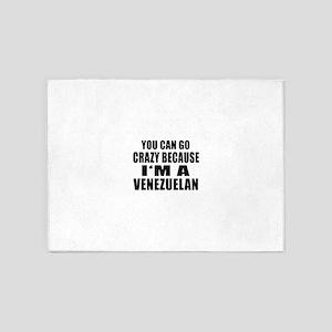 Venezuelan Designs 5'x7'Area Rug