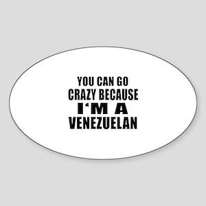 Venezuelan Designs Sticker (Oval)