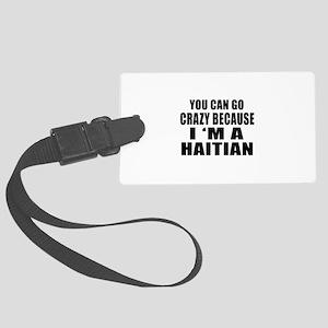 Haitian Designs Large Luggage Tag