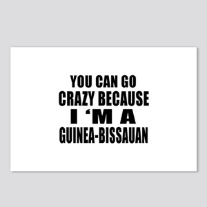 Guinea-Bissauan Designs Postcards (Package of 8)