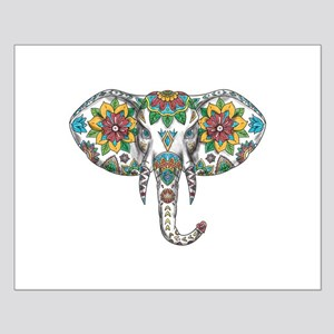 Elephant Head Mandala Tattoo Posters