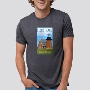 Block Island, Rhode Island Southeast Light T-Shirt