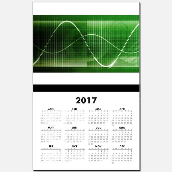 Creative Chart Lin Calendar Print