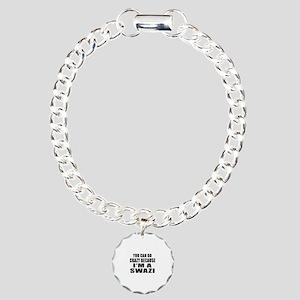 Swazi Designs Charm Bracelet, One Charm