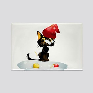Christmas funny cats Magnets