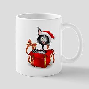 Christmas funny cats Mugs