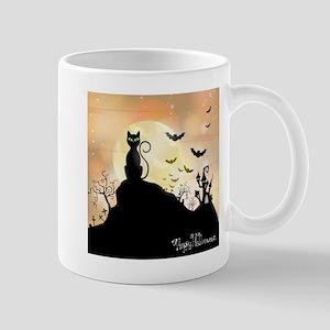 Silhouette halloween wallpaper Mugs