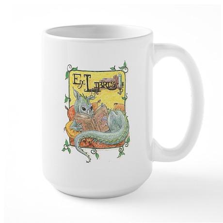 Dragon Reader Large Mug