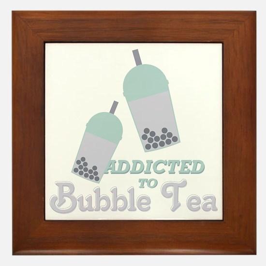 Bubble Tea Framed Tile