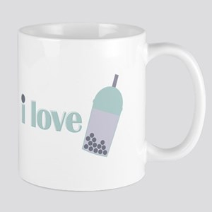 Love Bubble Tea Mugs