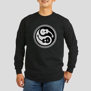 Yin-String Long Sleeve Dark T-Shirt