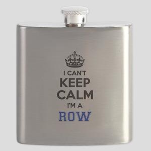 I can't keep calm Im ROW Flask