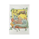 Dragon Reader Rectangle Magnet
