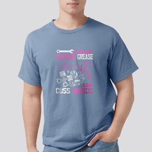 This Mechanic Runs On Caffeine T Shirt T-Shirt