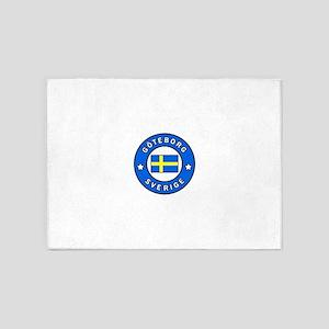 Goteborg Sverige 5'x7'Area Rug
