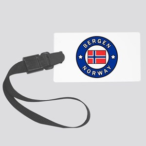 Bergen Norway Large Luggage Tag