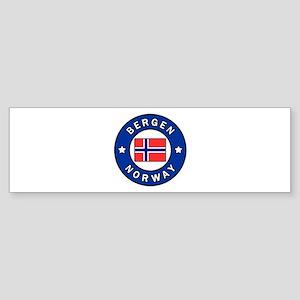 Bergen Norway Bumper Sticker