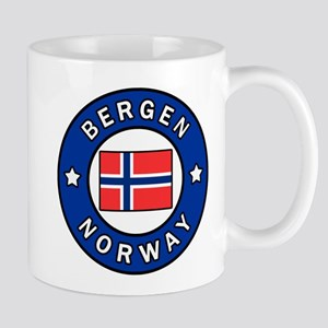 Bergen Norway Mugs