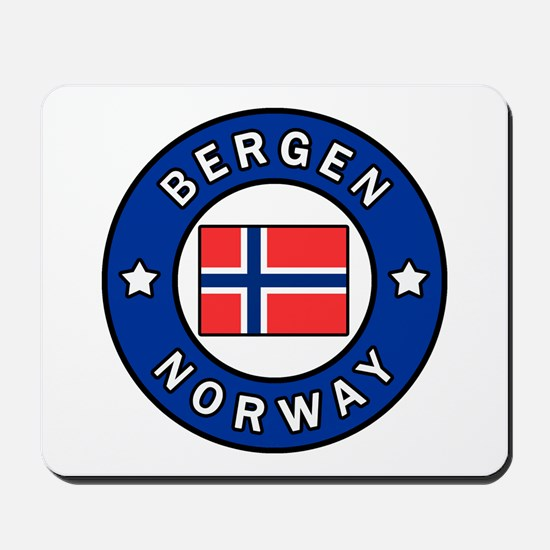 Bergen Norway Mousepad
