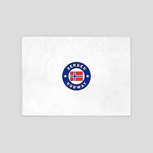 Bergen Norway 5'x7'Area Rug