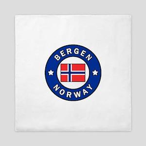 Bergen Norway Queen Duvet