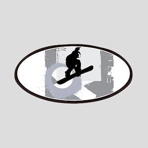Snowboarder design Patch