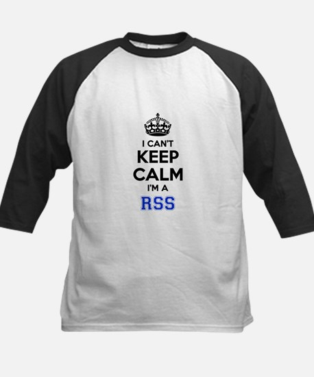 I can't keep calm Im RSS Baseball Jersey