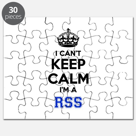 I can't keep calm Im RSS Puzzle