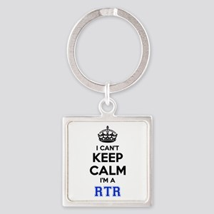 I can't keep calm Im RTR Keychains