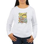 Dragon Reader Women's Long Sleeve T-Shirt