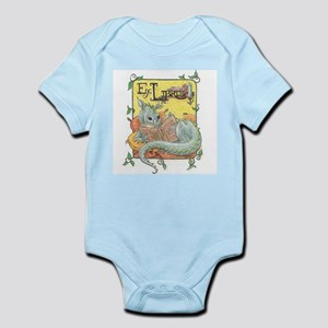 Dragon Reader Infant Bodysuit