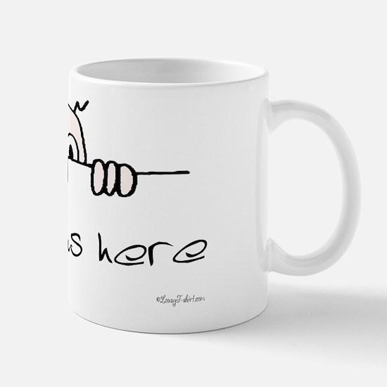 Kilroy Was Here Mug