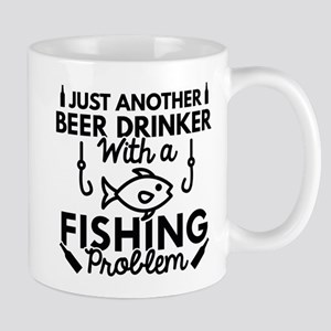 Beer Drinker Fishing Mug