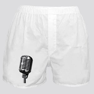 Isolated Stage Mic Boxer Shorts